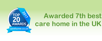 Voted 7th best care home in the UK