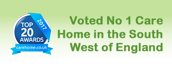 Voted No 1 Care Home in the South west of England